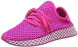 adidas Damen Deerupt Runner W, Laufschuhe, Pink (Shock Pink/Vivid Pink/Ftwr White Shock Pink/Vivid Pink/Ftwr White), 40 EU (6.5 UK)