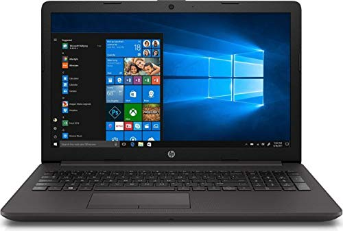 HP (15,6 Zoll HD matt) Laptop (Intel Celeron N4020 1.1 GHz DualCore, 8GB RAM, 256 GB SSD, Intel UHD Graphics 600,WLAN, Bluetooth, HDMI, USB 3.0, DVD-Brenner, Windows 10 Pro) Schwarz