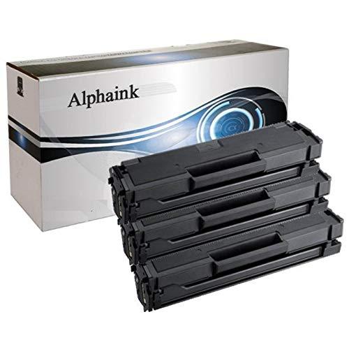 3 Toner Alphaink CompatibilI con Samsung MLT-D111 versione L da 1.800 copie per stampanti Samsung Xpress M2070, M2020, M2026