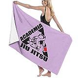 NUGHYFG Toalla de baño brasileña Jiu Jitsu BJJ Unisex, de Microfibra, de Secado rápido,...
