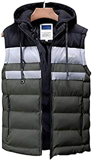 Charged Electric Heated Vest for Outdoor Camping Hiking Lightweight Washable Unisex Electric Heated Clothing,(Color:Green,Size:3XL)