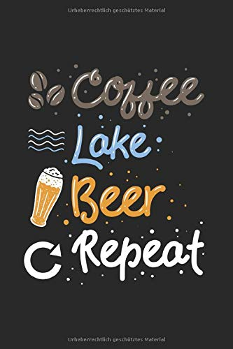 Kalender Kaffee See Bier und wiederholen: Wochenkalender 2020 I Notizbuch I Buchhalter