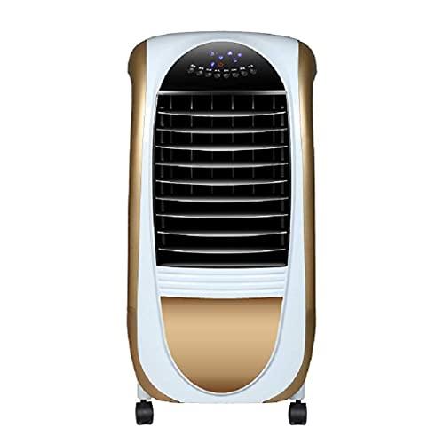 Ventilador de refrigeración, ventilador de aire acondicionado, ventilador de refrigeración para el hogar, aire acondicionado, control remoto, ventilador de aire acondicionado 79 * 40 * 30 cm (color: r