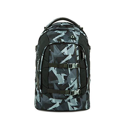 Satch pack Schulrucksack - ergonomisch, 30 Liter, Organisationstalent - Gravity Grey - Grau