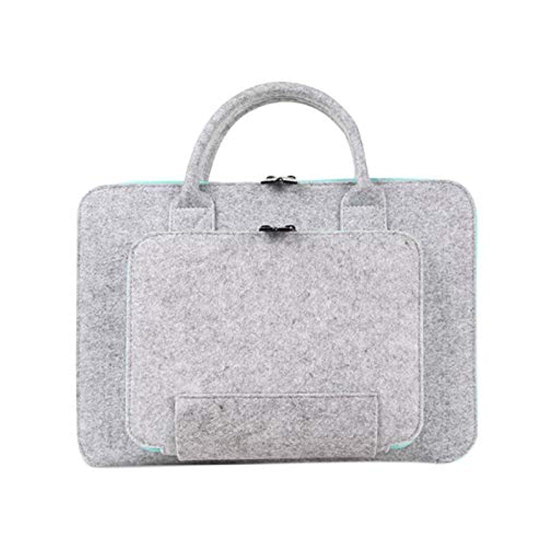 TOOGOO 13 15.6 17 Super Light Wool Felt Laptop Bag for Dell Computer Bag Notebook Case(15.6Inch) xcoq697963465895
