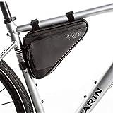 Bolsa de Bicicleta Impermeable Triangle Bag Alforja1,2L Bolsa Triangular para Cuadro para Bici Bolsa Marco Bicicleta para MTB Bicicleta Carretera Bicicleta Montaña