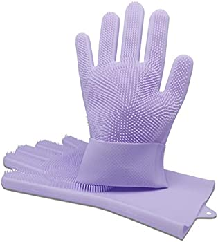 Tiandco Silicone Gloves for Washing Dishes