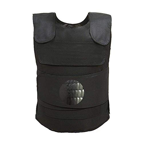 WHCCL Stab-Resistant Clothing Fish Scale Tactical Vest Anti-Terrorism Knife-Proof Vest Chest,CS Field Combat Training Protective Vest