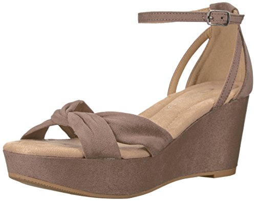 CL by Chinese Laundry Devin, Sandales pour Femme/US Frauen - Beige - Dusty Taupe Suede, 40 EU