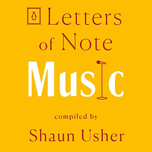Letters of Note: Music  By  cover art