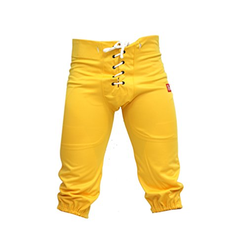 BARNETT FP-2 Pantalon de Football américain us Match Jaune XL