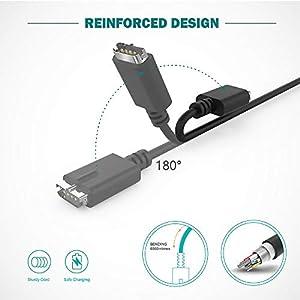 TUSITA Cargador Compatible con Polar M430 Smartwatch - USB Cable de Carga 3,3ft 100cm - GPS Relojes Accesorios