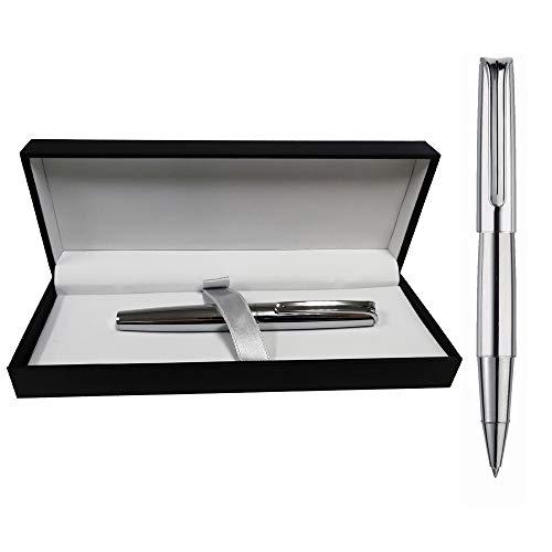 Estuche con Bolígrafo Inoxcrom Mini Naked Cromado Excellence