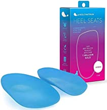 Heel That Pain Plantar Fasciitis Insoles | Heel Seats Foot Orthotic Inserts, Heel Cups for Heel Pain and Heel Spurs | Patented, Clinically Proven, 100% Guaranteed | Blue, X-Large (Men's 13-15)
