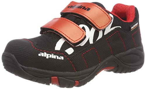 alpina Unisex-Kinder 680400 Trekking-& Wanderhalbschuhe, Rot (Rot (4), 30 EU