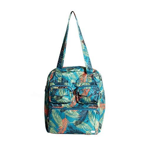 Lug Puddle Jumper Packable Duffel Bag, Tropical Ocean, One Size