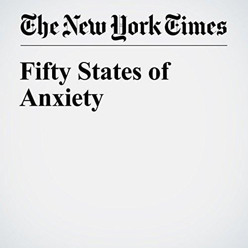 Fifty States of Anxiety audiobook cover art