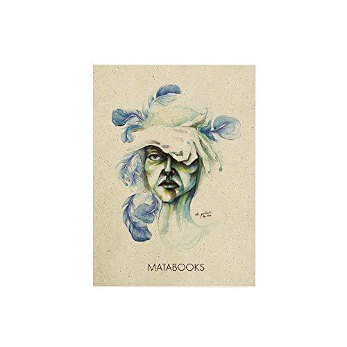 Matabooks, nachhaltige und vegane Postkarten aus Graspapier, Natur, Made in Germany (Blended)