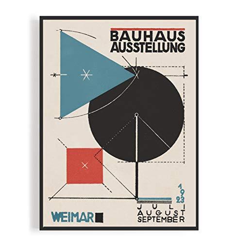 MReinart Bauhaus Ausstellung Weimar 1923 - DIN A3 Poster Ungerahmt Reproduktion 250 g/m²