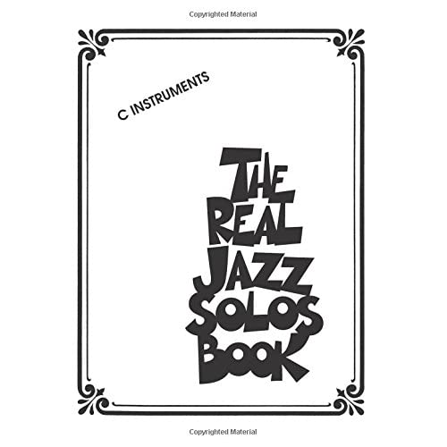 The Real Jazz Solos Book: Hal Leonard Corp : 0884088066512