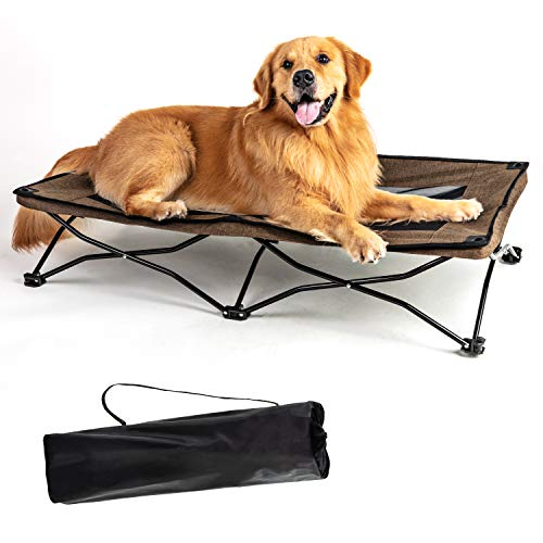 YEPHHO Large Elevated Folding Pet Bed