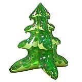 Weihnachtsbaum aufblasbarer Ballon sprengen Weihnachtsbaum Ornamente mit Inflator Frohe Weihnachten...