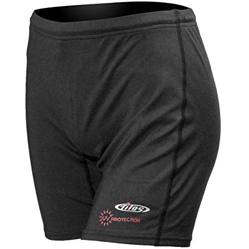 Tilos Women's Rash Guard Shorts (XL, Black)