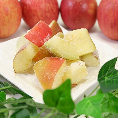 冷凍カットりんご 1kg (青森県産) ふるさと21