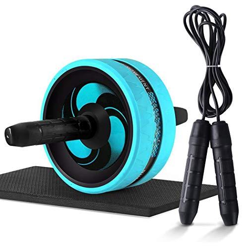 Rueda Abdominales, Fitness Rodillo Gimnasio en Casa Pesas Ejercicio en Casa, Premium AB Roller Dispositivo de Entrenamiento de Fuerza Abdominal para Ejercicio Gimnasio en Casa, K014PO ( Color : Blue )