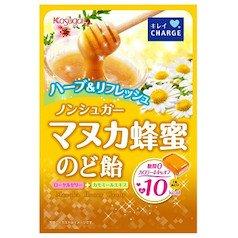 ノンシュガーマヌカ蜂蜜のど飴 70g 春日井
