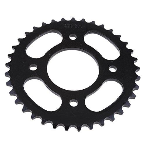 Almencla 37T 420 Metall Kettenrad Hinterrad Kettenblätter für 110cc/ 125cc/ 140cc Dirt Bike, Φ 58mm, Rostfrei