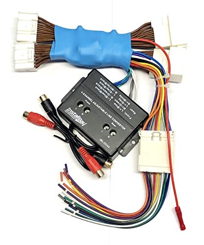 4 Channel Full System Add An Amp Amplifier Adapter Interface to Factory OEM Car Stereo Radio System for select Hyundai and Kia Vehicles- No Factory Bose/Premium Amp Systems- Compatible Vehicles listed below