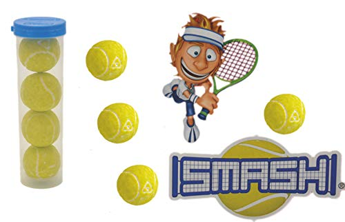 jameitop®🎾 XL Tennisball KAUGUMMI 8er Pack Tennis Bälle saurer Lime Geschmack im Köcher 🎾