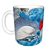 The Puffi Tazza da caffè per cappuccino, latte o tè caldo, 330 ml
