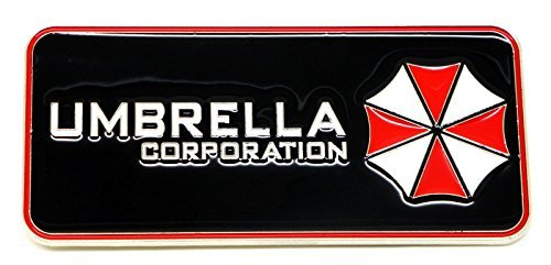 Resident Evil Umbrella Corporation Hebilla de cinturón Cosplay Halloween