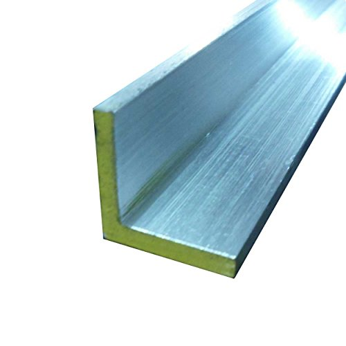 Online Metal Supply 6063-T52 Aluminum Architectural Angle 1-1/4
