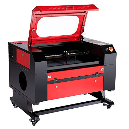 "Orion Motor Tech 60W Co2 Laser Engraver Cutter 20"" x 28"" Laser Engraving Cutting Machine with USB Port Interface, Red Dot Guidance and Windows PC Software for DIY Home and Business Applications"