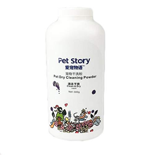 WARMWORD Específico para Mascotas Seco, Polvo de Limpieza Gatos Perros sin Lavar...
