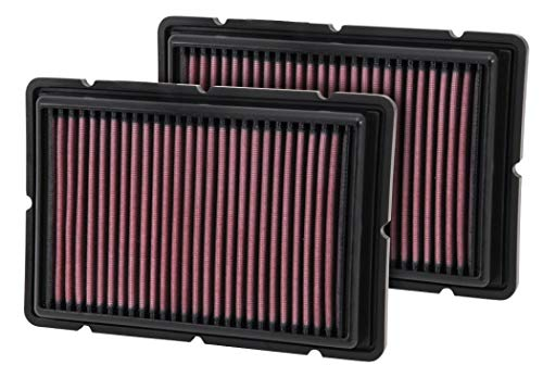 K&N Engine Air Filter: High Performance, Premium, Washable, Replacement Filter: 1999-2010 FERRARI (360, 430, F430), 33-2494