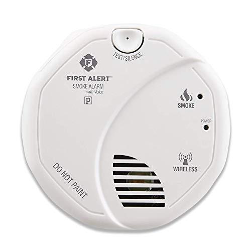 First Alert SA511CN2-3ST Smoke Alarm, 2 Pack (Renewed)