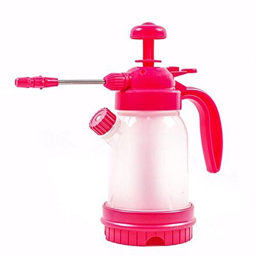 DUOER home L'arrosoir de Plante de Floricultural, arrosage de ménage, Pression d'air Peut être Pot d'eau d'arrosage d'arrosage 1.2L (Rose) (Color : Red, Taille : 14.5 * 19.5)