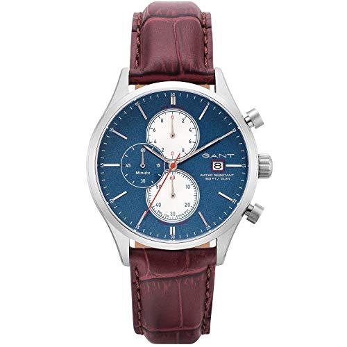 Reloj de pulsera de acero inoxidable GANT de plata para hombre