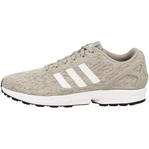adidas ZX Flux, Zapatillas de Deporte Hombre, Marrón (Sesamo/Ftwbla/Negbas), 37.5 EU