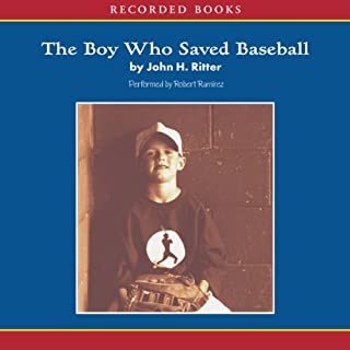 The Boy Who Saved Baseball audiobook cover art