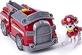 PAW Patrol — Camión de Bomberos transformadora de Marshall con cañones de Agua Pop-out, para Edades de 3 y más