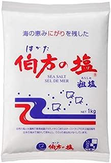 伯方の塩 1KG 1袋×10個