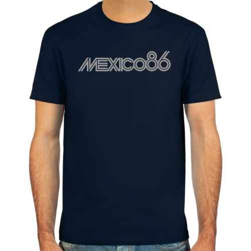 SpielRaum T-Shirt Mexico 86 ::: Farbauswahl: weiß, deepred, schwarz, Oliv oder Navy ::: Größen:...