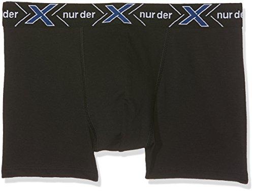 Nur Der Herren Boxershorts X-Temp Boxer Doppelpack, Schwarz (Schwarz 94), X-Large (Herstellergröße: 7 = XL)