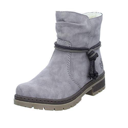 Rieker Damen Y7463 Stiefeletten, Grau (Grey / 40 40), 38 EU
