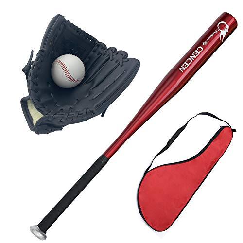 Youth Baseball Glove & Bat Set for Kids